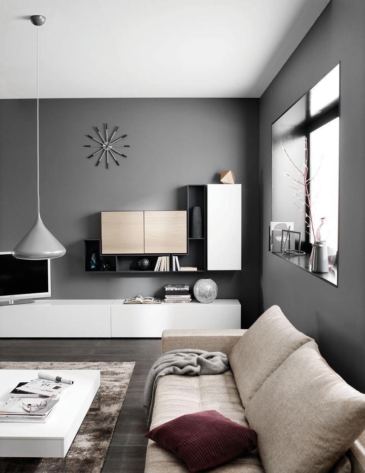 wohnwand 15 moderne systeme a estar e tv wohnzimmer m bel e wohnzimmer ideen. Black Bedroom Furniture Sets. Home Design Ideas