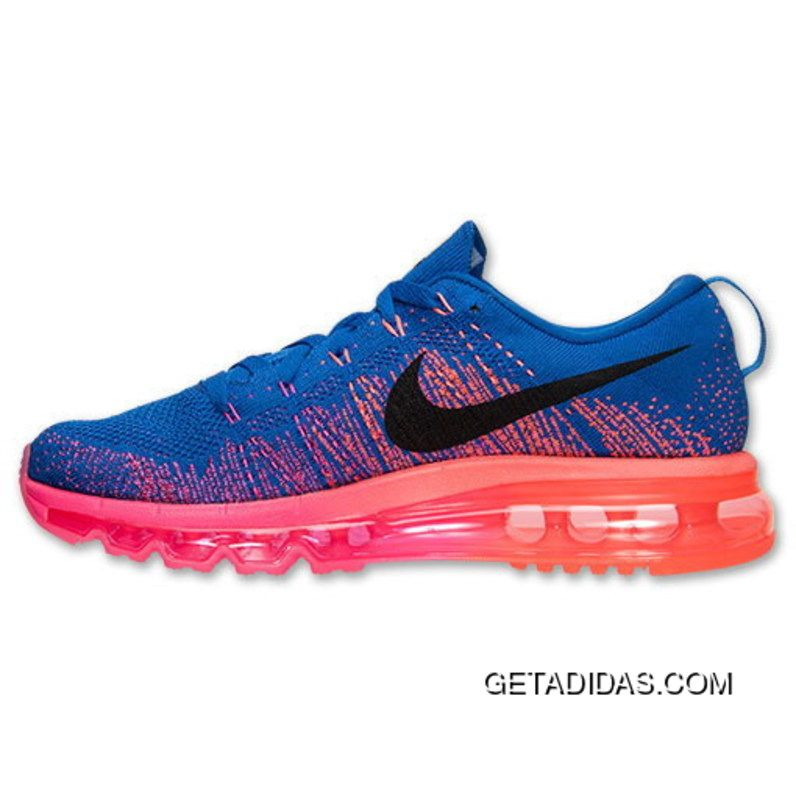 Nike Free Rn Flyknit Photo Blue Royal Blue TopDeals