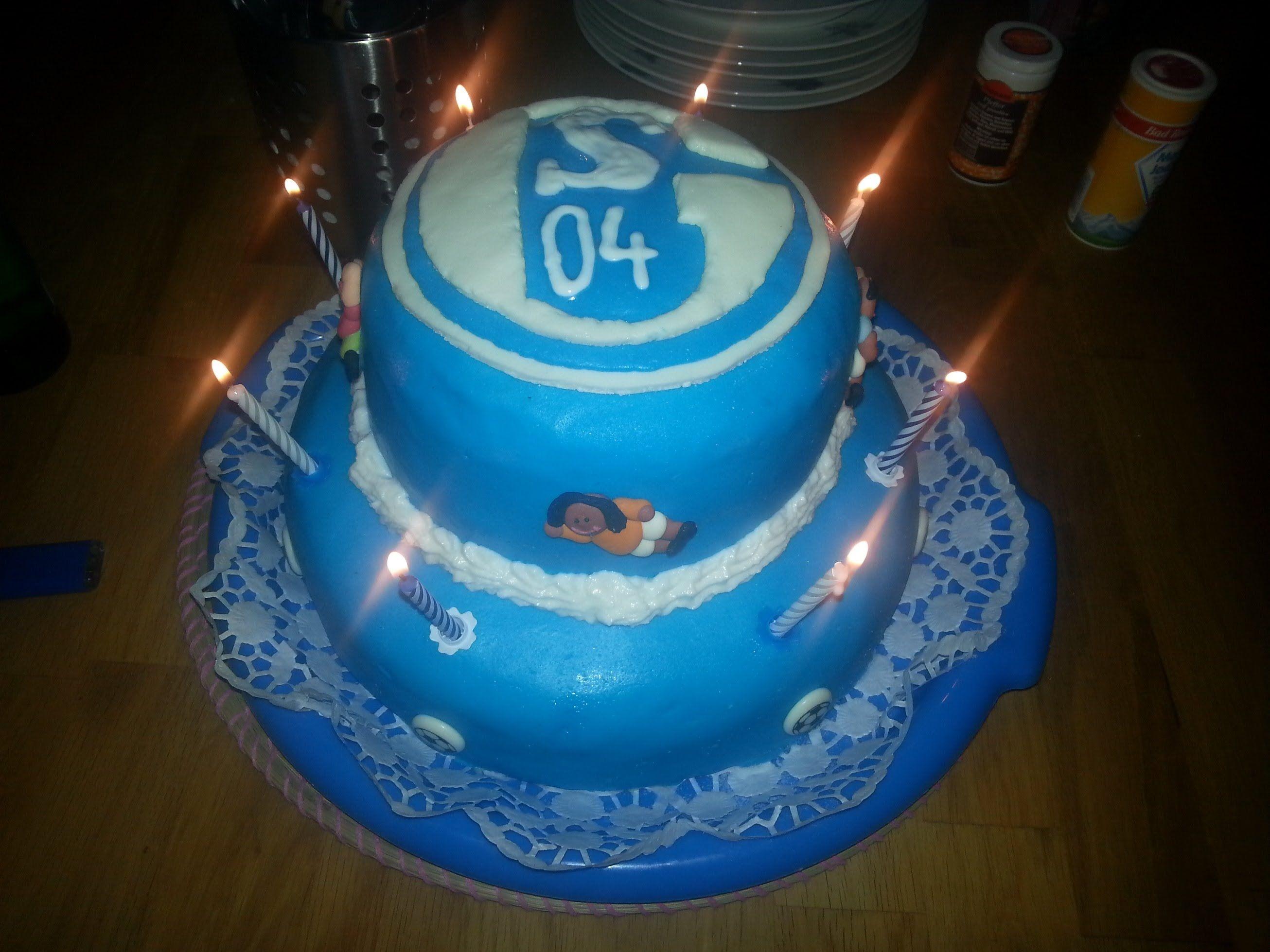 fußballmotivtorte  schalke torte  httpswww