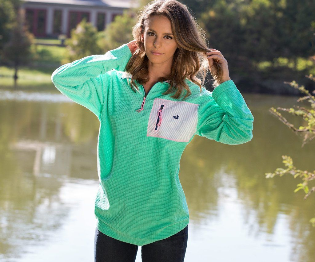 Southern Marsh Collection — FieldTec™ Dune 1/4 Zip Fleece Pullover ...