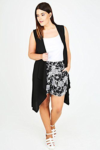 1276f232a11 Fashion Bug Plus Size Womens Rose Print  Shorts With Pockets  www.fashionbug.us  PlusSize  FashionBug