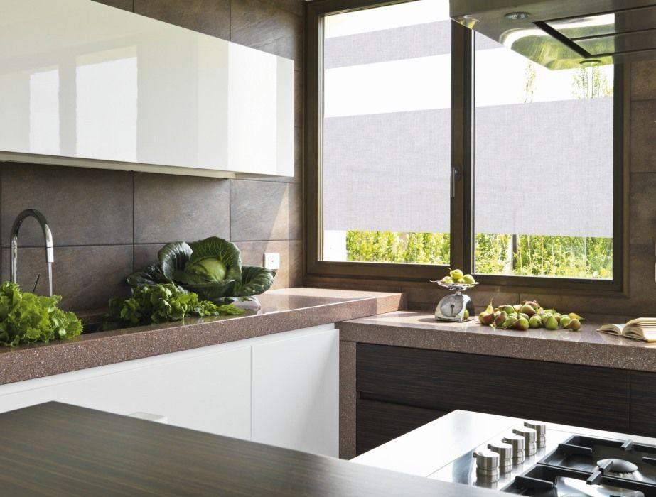 Folien am Fenster in der Küche Sichtschutz, der nicht stört und - folie für badezimmerfenster