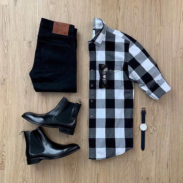 """F L Y G R I D S on Instagram """"""""Check"""" this out 🏁🏁 🤭🤭     📷 @mrjunho3 🤘🏽🤘🏽     flatlay mensfallfashion menswear flatlaystyle flatlay flygrids"""" is part of Mens fashion casual outfits - 5,571 Likes, 17 Comments  F L Y G R I D S (@flygrids) on Instagram """"""""Check"""" this out 🏁🏁 🤭🤭     📷 @mrjunho3 🤘🏽🤘🏽     flatlay mensfallfashion menswear flatlaystyle…"""""""