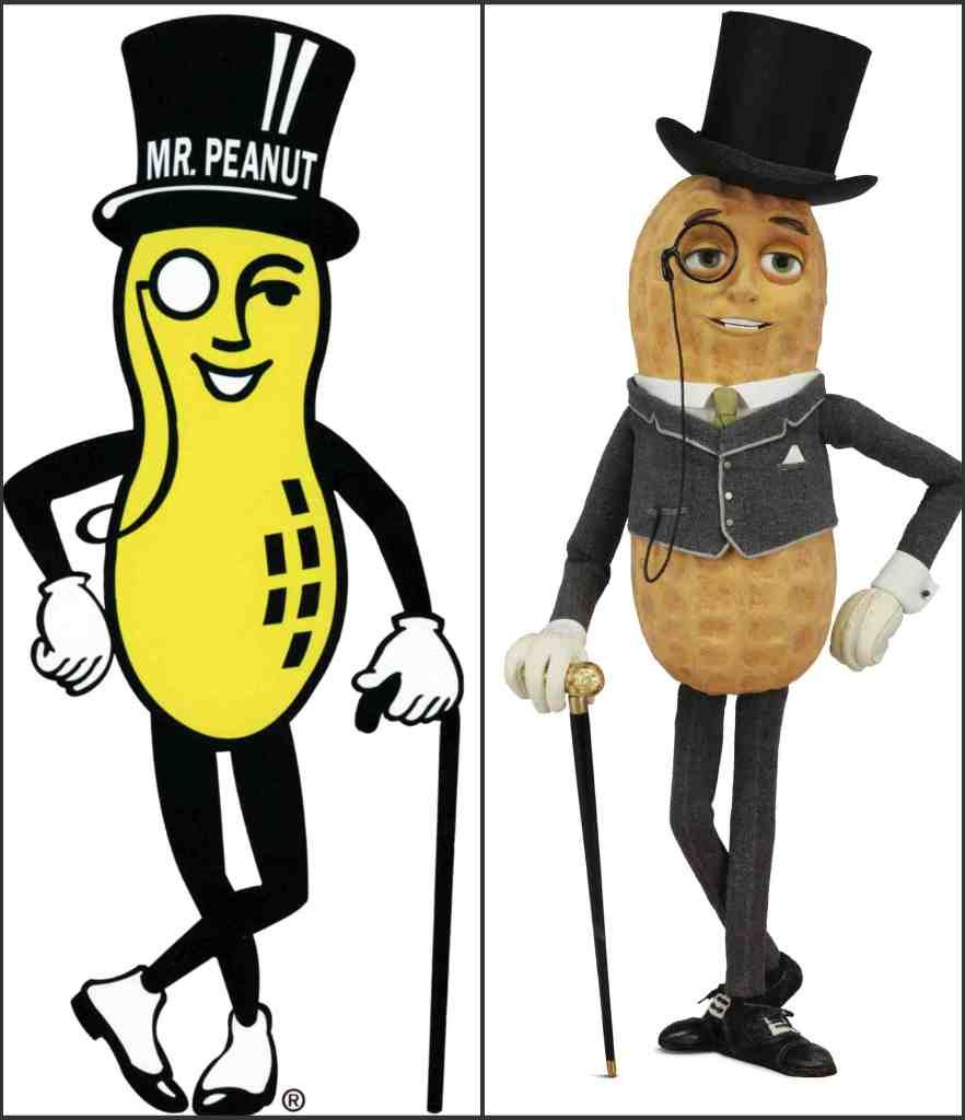 MR. Peaunt - Planters Mascot