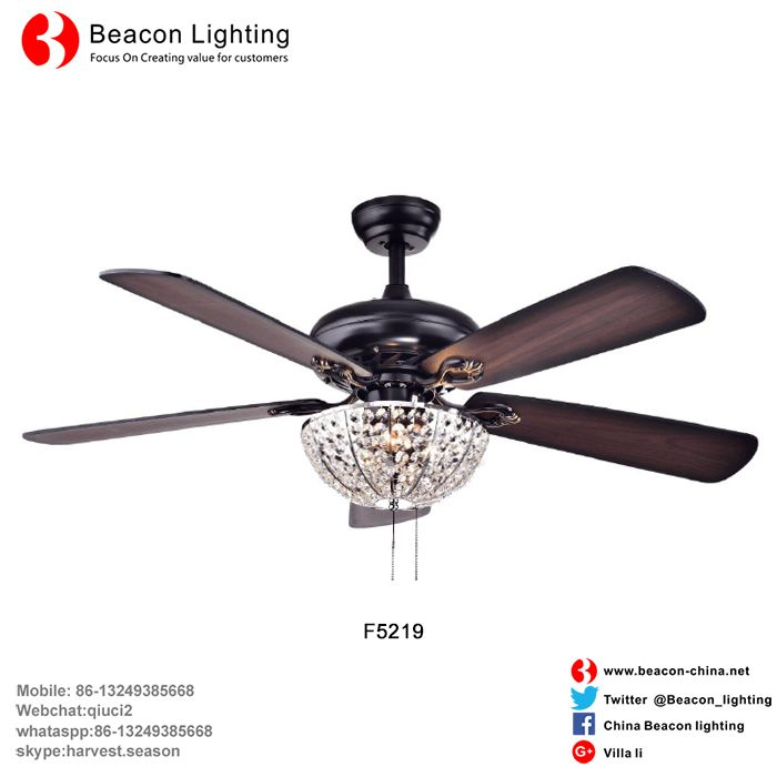 New design wholesale factory price american style wood crystal new design wholesale factory price american style wood crystal ceiling fans lighting for home bar warranty mozeypictures Image collections