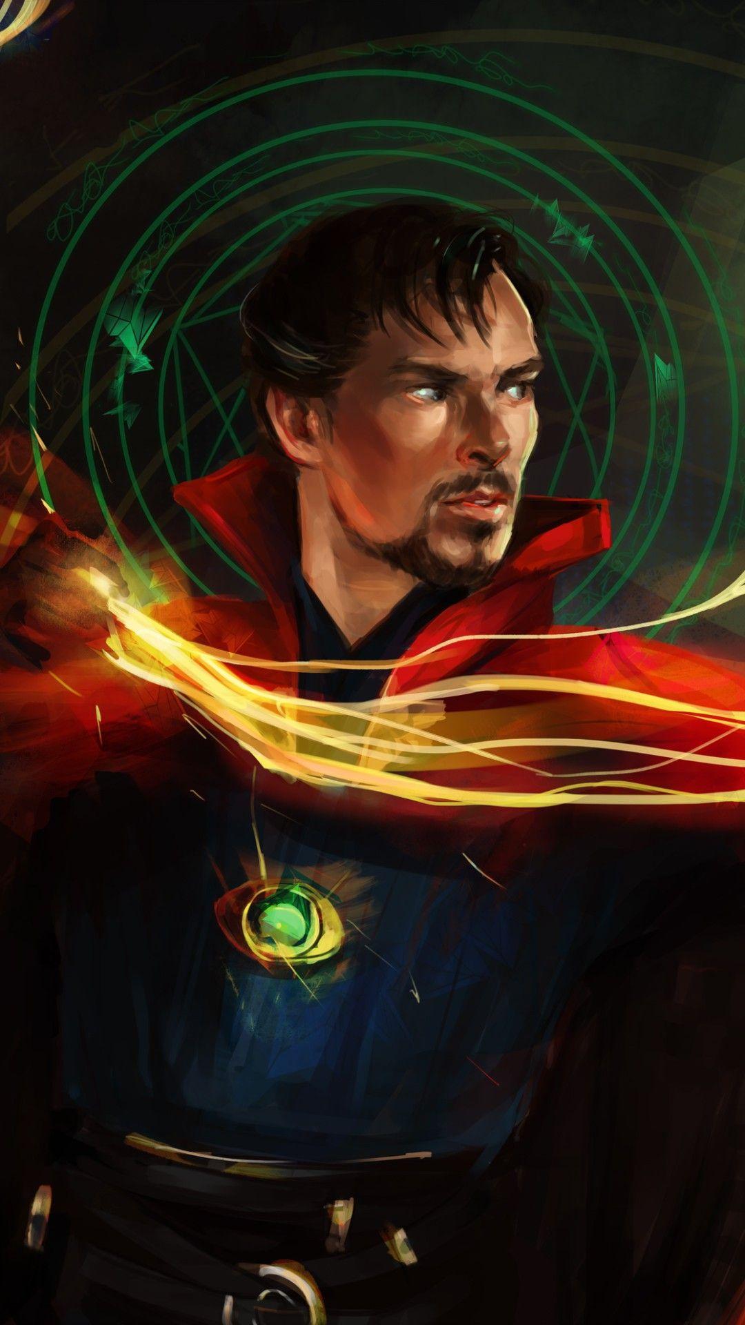 Wallpaper Phone Doutor Estranho Full Hd Superheroes Marvel