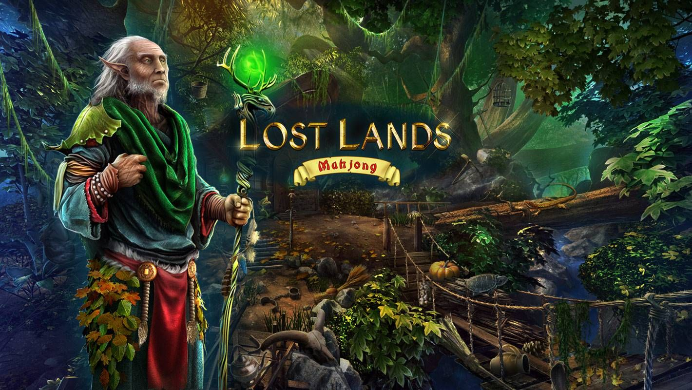 Free download Lost Lands Mahjong for iPad, iPhone