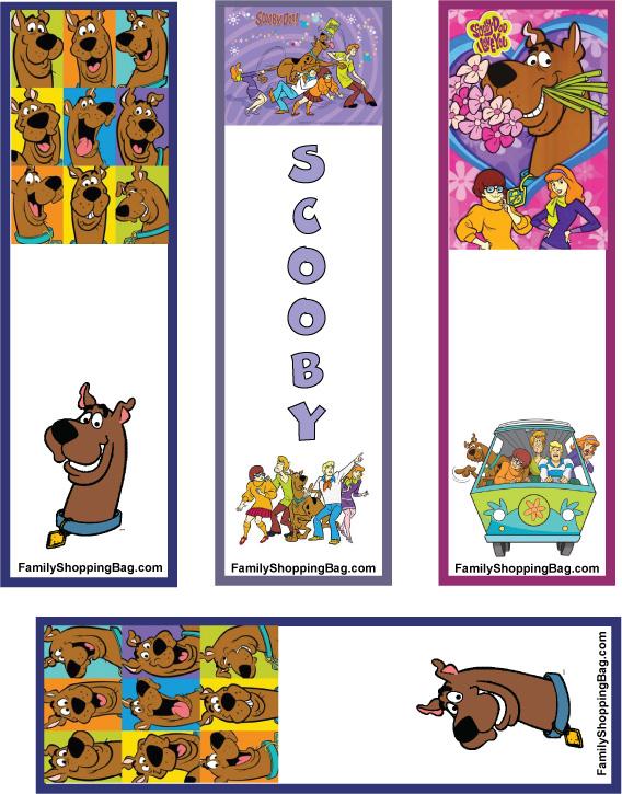 Www Familyshoppingbag Com Scooby_doo_printables Htm