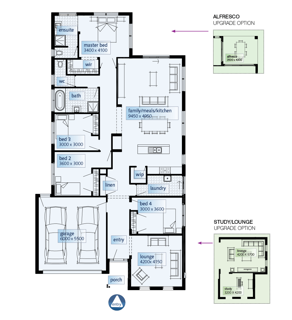 Simmons Homes Floor Plans