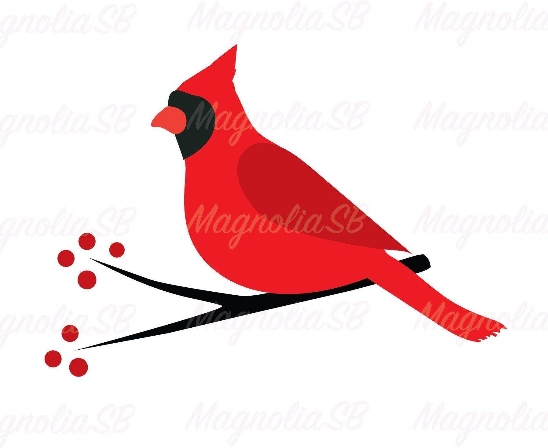 Cardinal Bird Svg Dxf Cardinal Png Bird Silhouette Etsy Bird Silhouette Svg Dxf