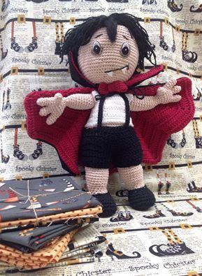 Crea amigurumis tan aterradores como este con nuestra lanas http://laboresenpatchwork.es/24-anchor-style-creativa-fino #crochet #amigurumis