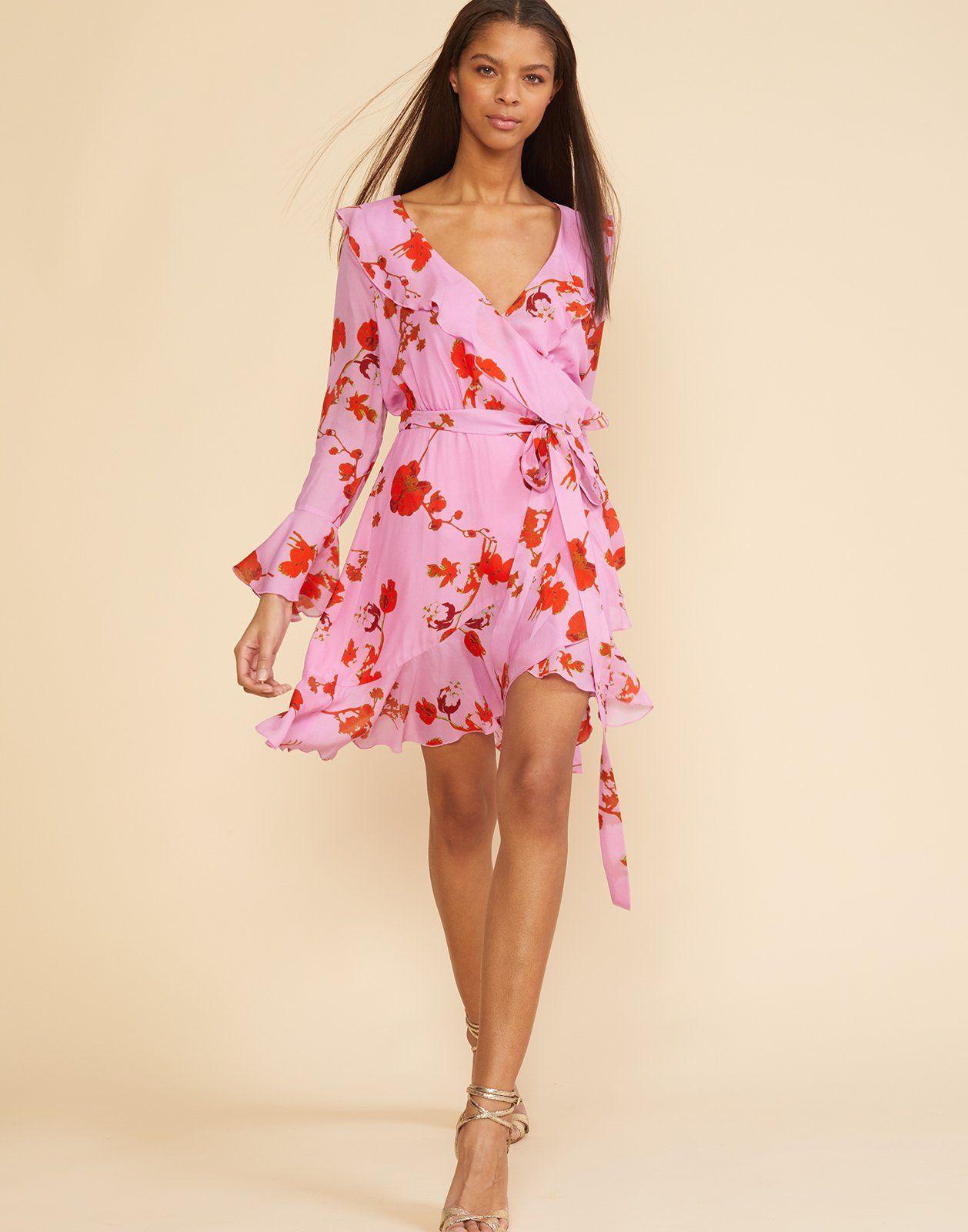 Malibu Ruffle Mini Dress | Pinterest