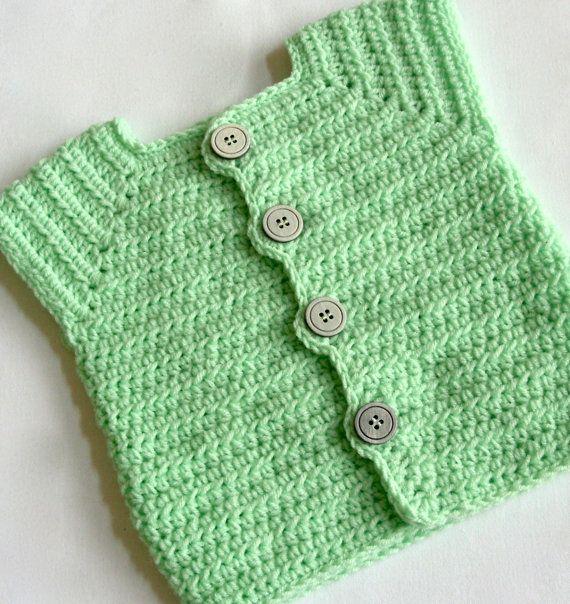 Baby Boy Sweater Vest Crochet PATTERNS, Sweater Vest PATTERN ...