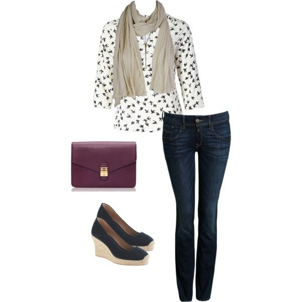 """""""Weekend Out"""" by lynnerambling on Polyvore"""