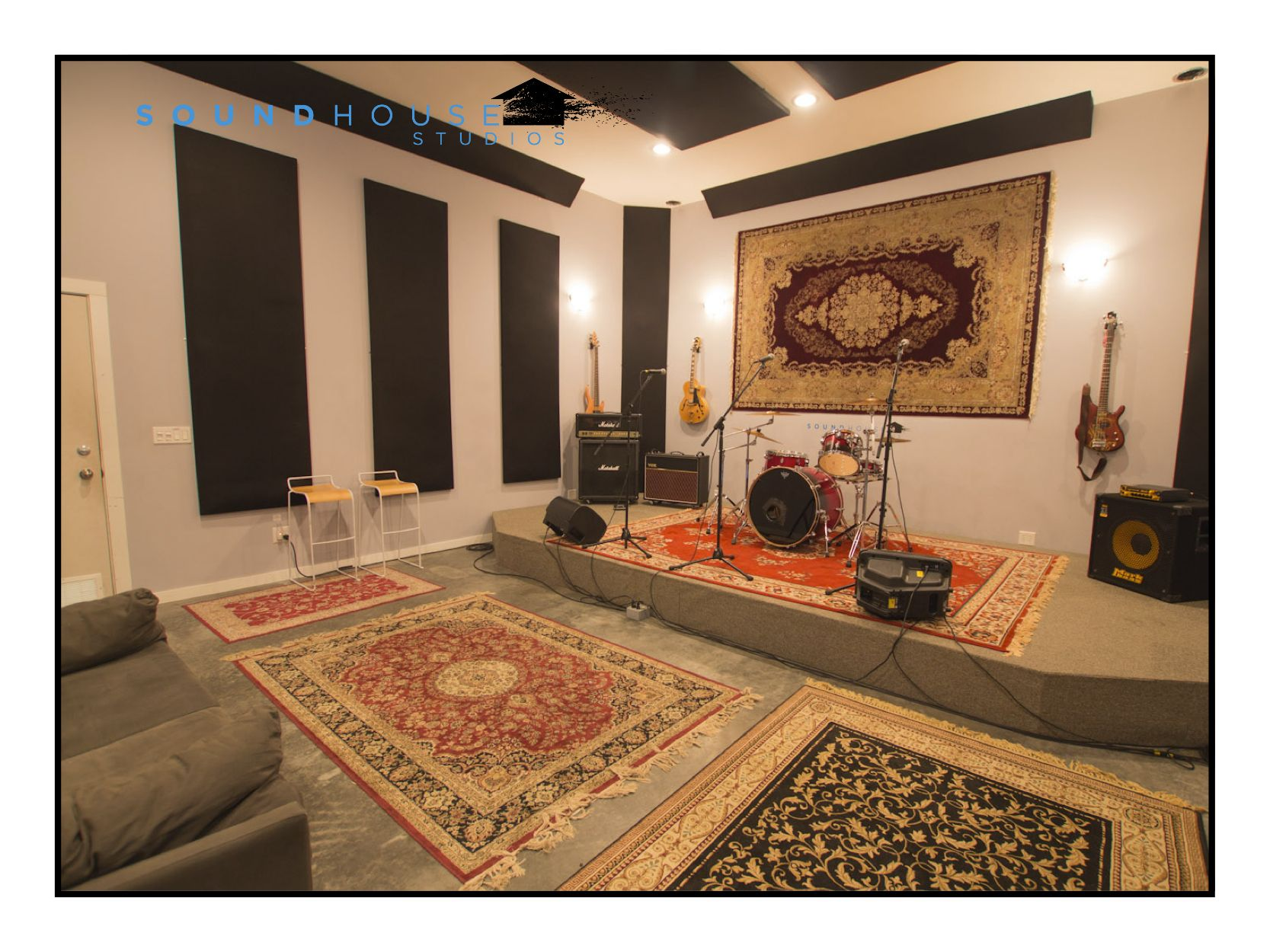 Vancouver Rehearsal Studio Event Space Soundhouse Studios Home Music Rooms Music Room Design Music Studio Room
