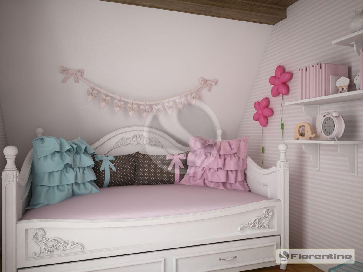 Meble dla dzieci, meble dla młodzieży i łóżka dla dziecka – meble dla dziewczynki | Fiorentino Exclusive 800