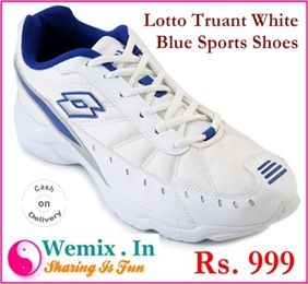 Lotto Truant White Blue Sports Shoes Rs