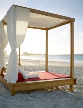 Grace Bay Club  - Beach Beds