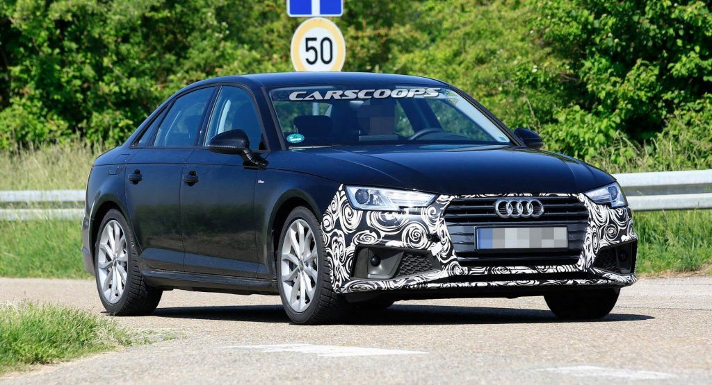 Facelifted 2019 Audi A4 To Gain Minor Styling Updates And More Tech Audi A4 Audi Q4 Audi