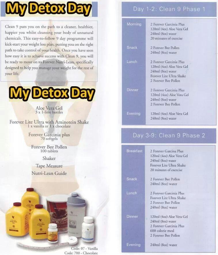 program de detoxifiere forever)