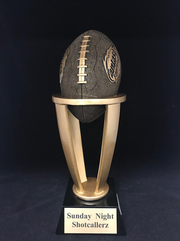 Fantasy football league trophyfantasy football etsy