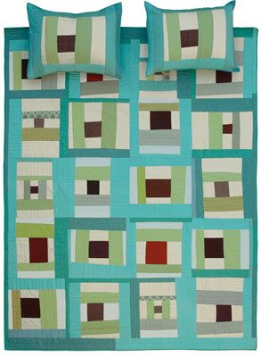 """Denyse Schmidt - """"Spool"""" from the DS Designs Quilt Collection #quilting #craft"""