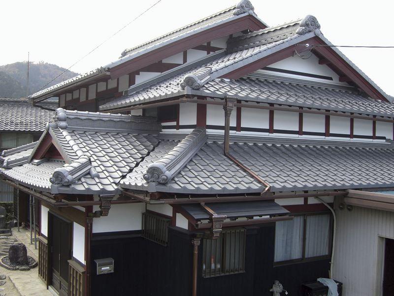 有限会社天満瓦 瓦屋根診断技士会しが 瓦屋根 アジアの家 日本 住宅