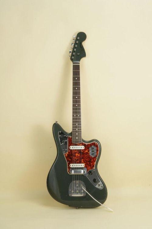 1965 Fender Jaguar in super rare custom color Charcoal Frost