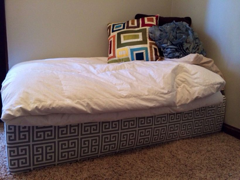 DIY   Crib To Toddler Bed With Matching Chair