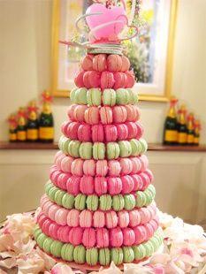Macaron Croquembouche Fancy Cakes Wedding Macarons Creative Cupcakes