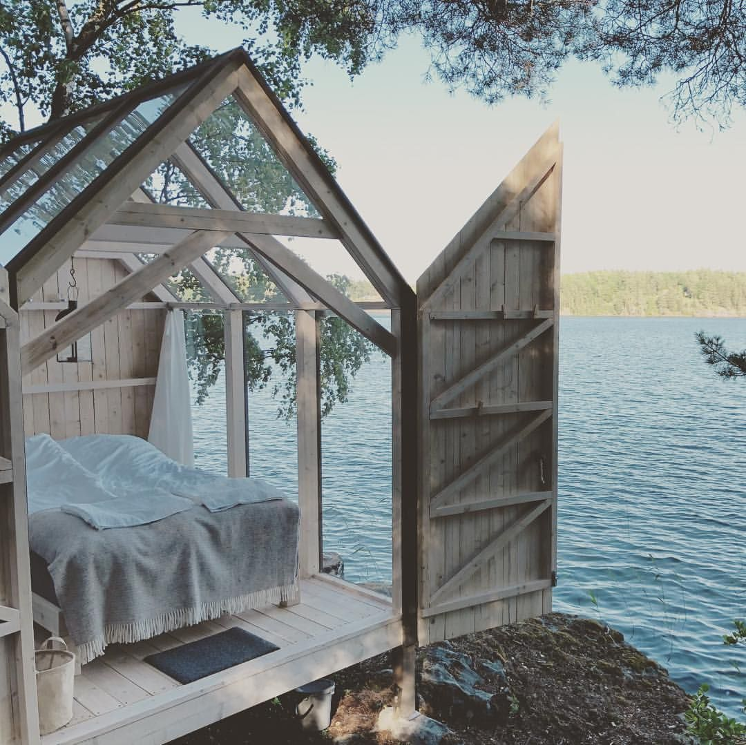 This Has Been Our Home For 72 Hours Lately Little Houses Glass House Small House