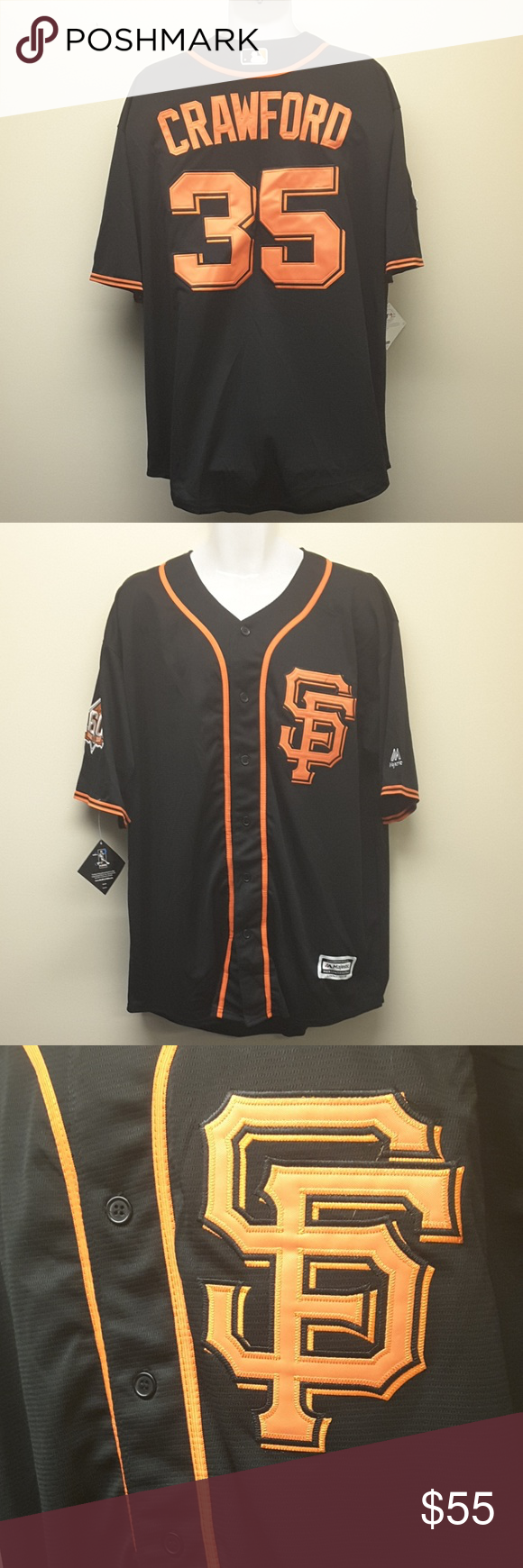 size 40 5bd75 fb13c coupon code sf giants brandon crawford jersey 98a96 d5959