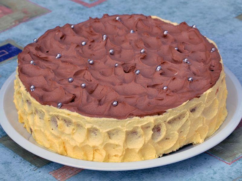 Krémový koláč orgie 2