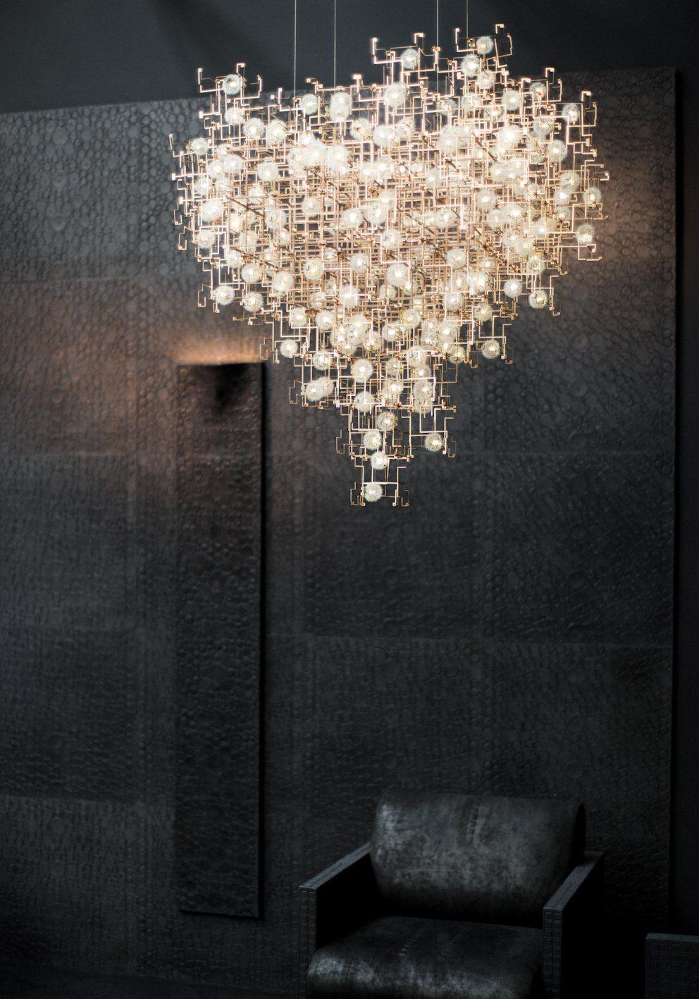 studio drift dandelion chandelier Google Suche   Lights