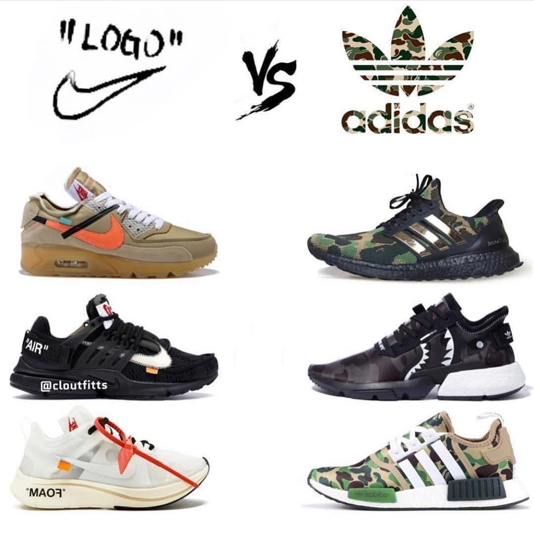 Off White x Nike or Bape x Adidas