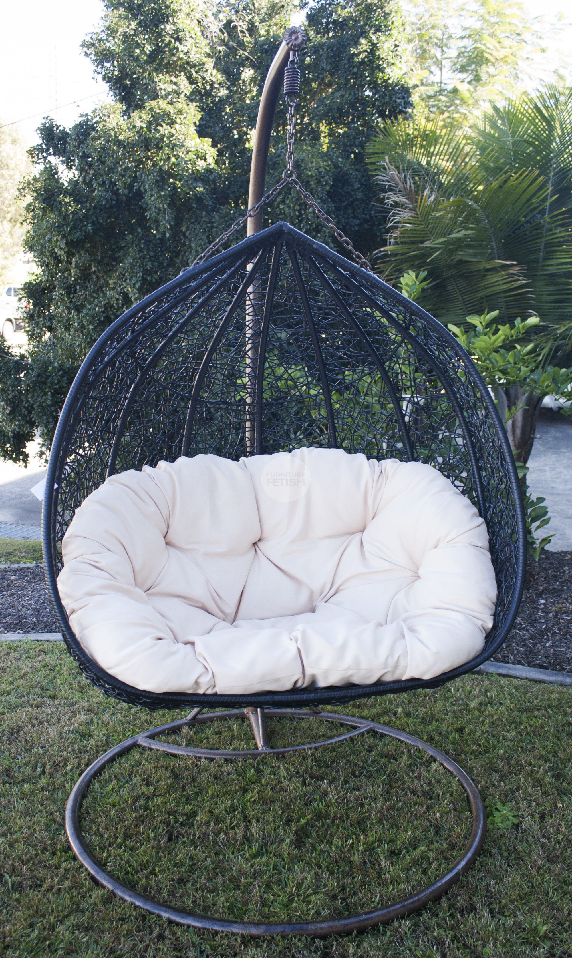 Egg Wicker Chair 479 Double Hanging Egg Chair Rattan Wicker Coooool Day Beds