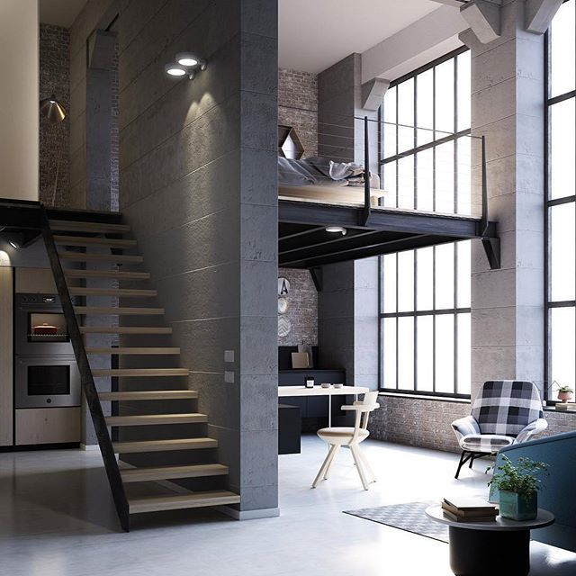 Loft industrial by @imagodesignsocial #Italy  #archiviz  www.amazingarchitecture.com ✔️ #amazingarchitecture  #architecture  www.facebook.com/amazingarchitecture  https://www.twitter.com/amazingarchi  https://www.pinterest.com/amazingarchi  #design  #contemporary  #architecten #nofilter #architect #arquitectura #iphoneonly #instaarchitecture #love  #concept #Architektur #architecture  #luxury #architect #architettura  #interiordesign  #photooftheday  #instatravel #travel #instagood…