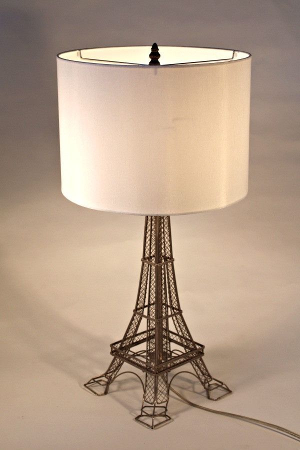Metal eiffel tower table lamp sphere table lamps pinterest metal eiffel tower table lamp aloadofball Images