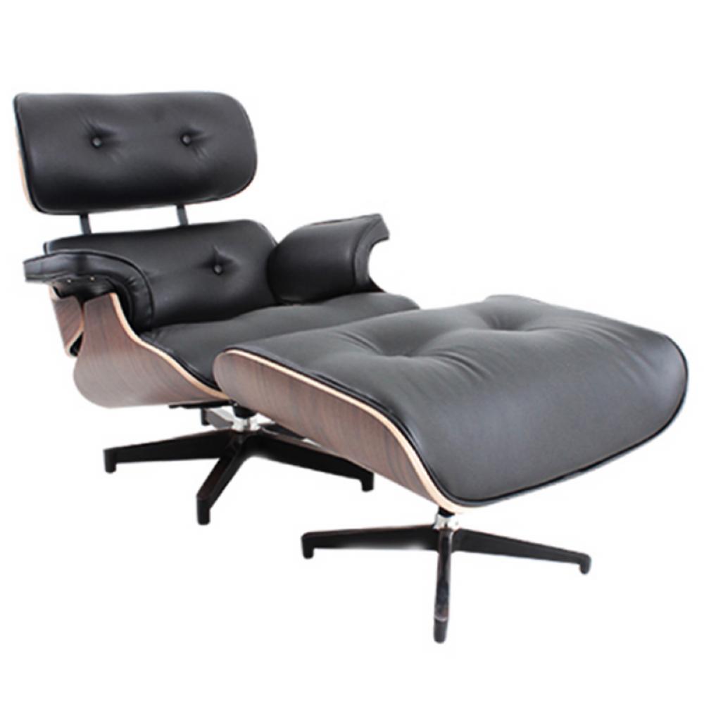 Mobiliário Pós-Moderno - Poltrona Charles Eames. Designer: Charles ...