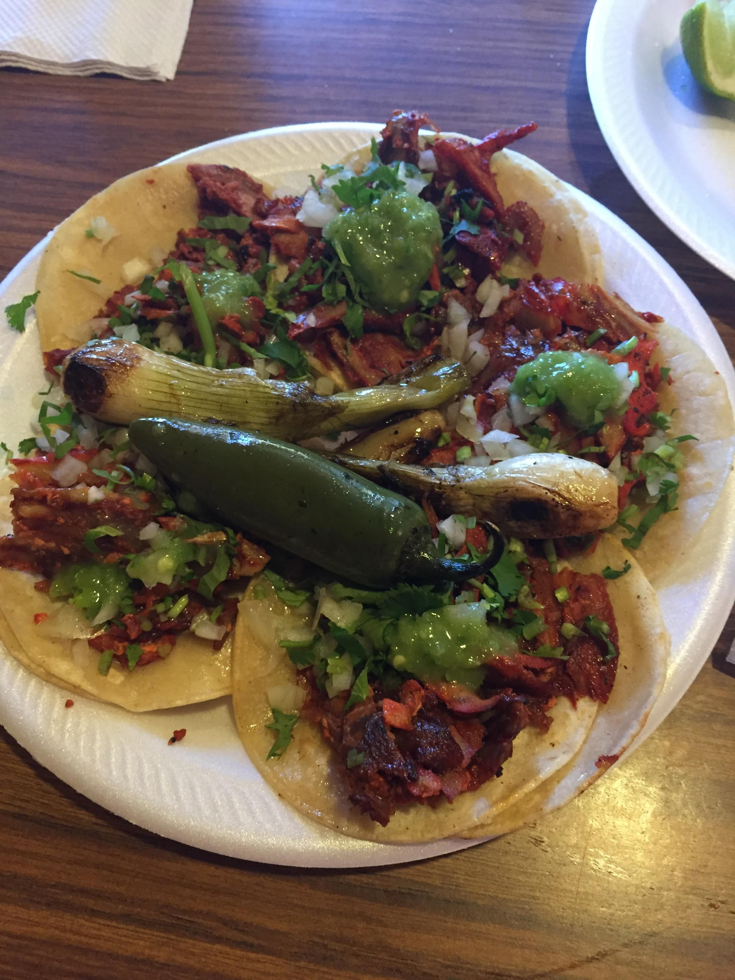 Hands Down The Best Tacos In Wichita Ks Tacos De Al Pastor Right Off Of The Trompo Fogon Taqueria If Youre Ever In Wichita M Mexican Food Recipes Tacos Food