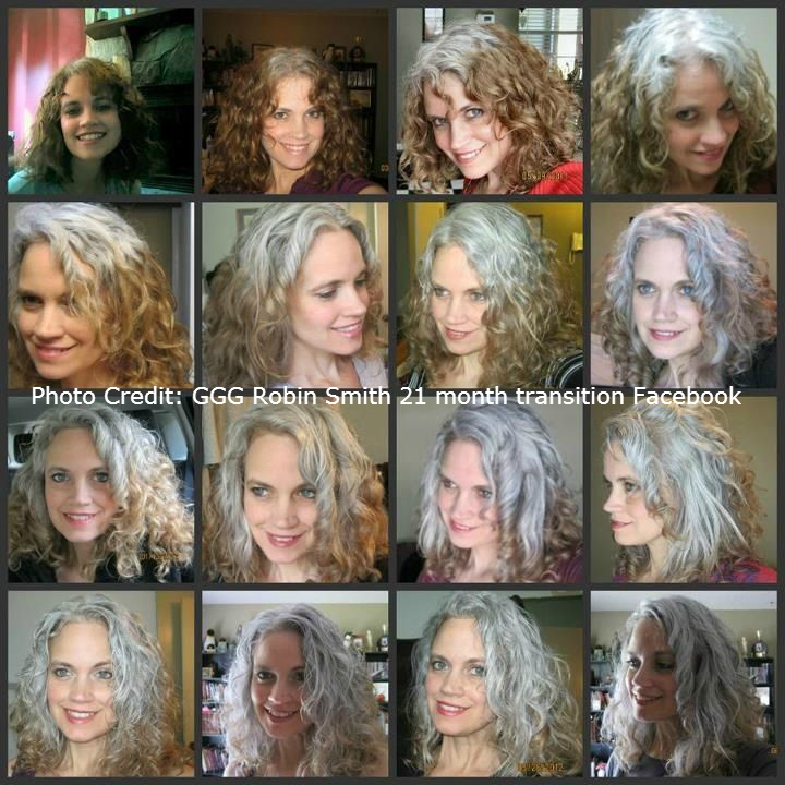 Image Result For Transition To Grey Hair With Highlights Grey