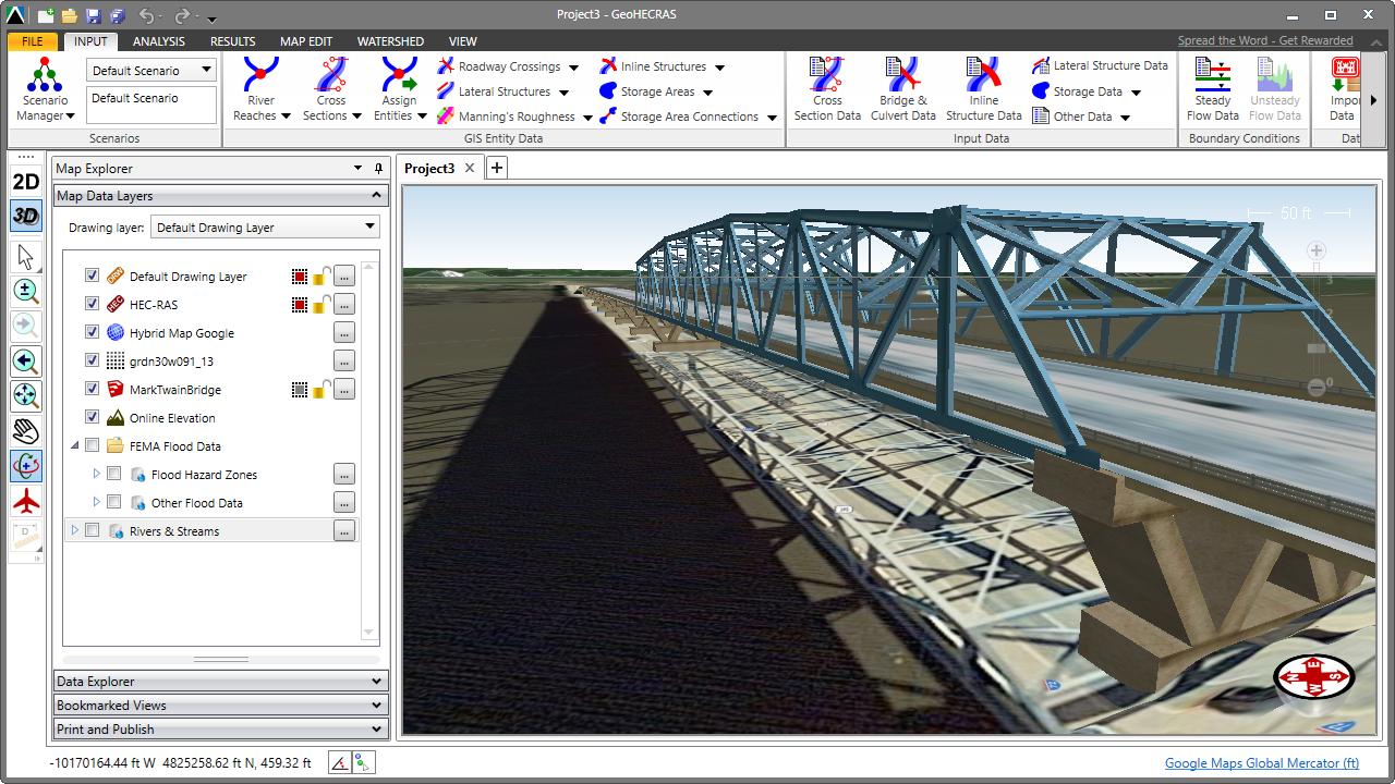 Pin by CivilGEO, Inc  on HEC-RAS | Bridge, Mississippi