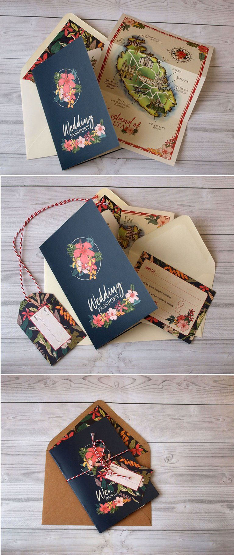 42 Best Of Travel Wedding Invitations Wedding Passport Wedding