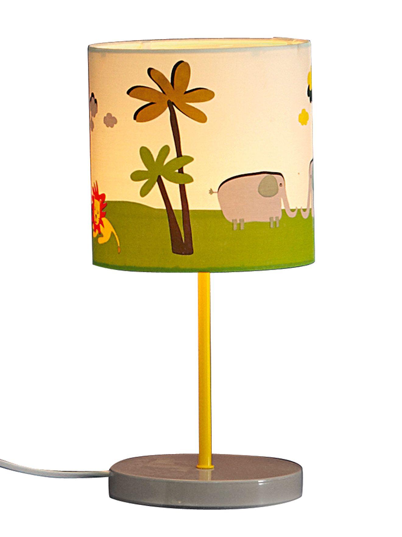Lampe De Chevet Animaux De La Jungle Src08