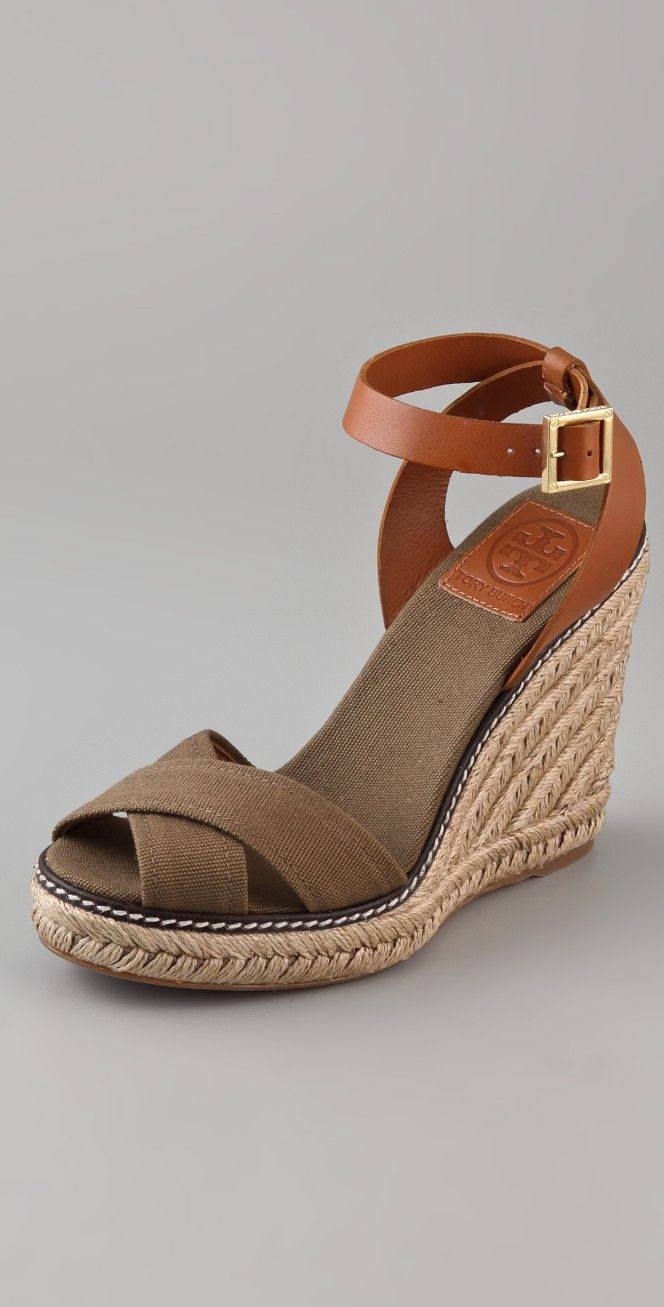 ef4b3d922 Tory Burch Crisscross Wedge Espadrilles | SHOPBOP