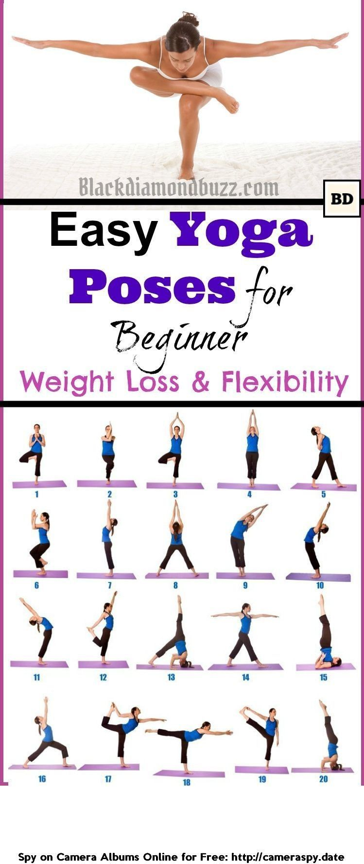 Easy Morning Yoga Poses for Beginner for Weight Loss and Flexibility ...