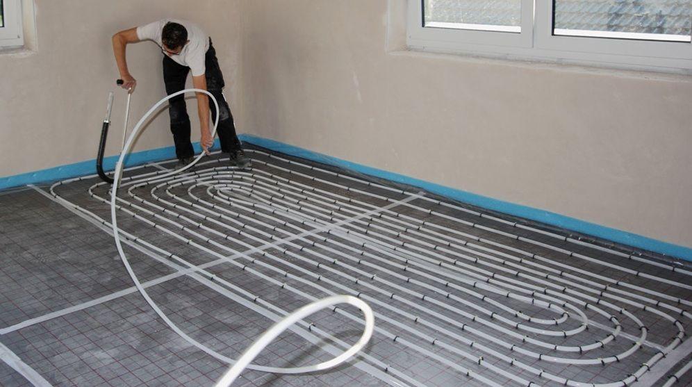 Nachträglich Fußbodenheizung Einbauen anleitung fussbodenheizung selbst verlegen ein kinderspiel diy