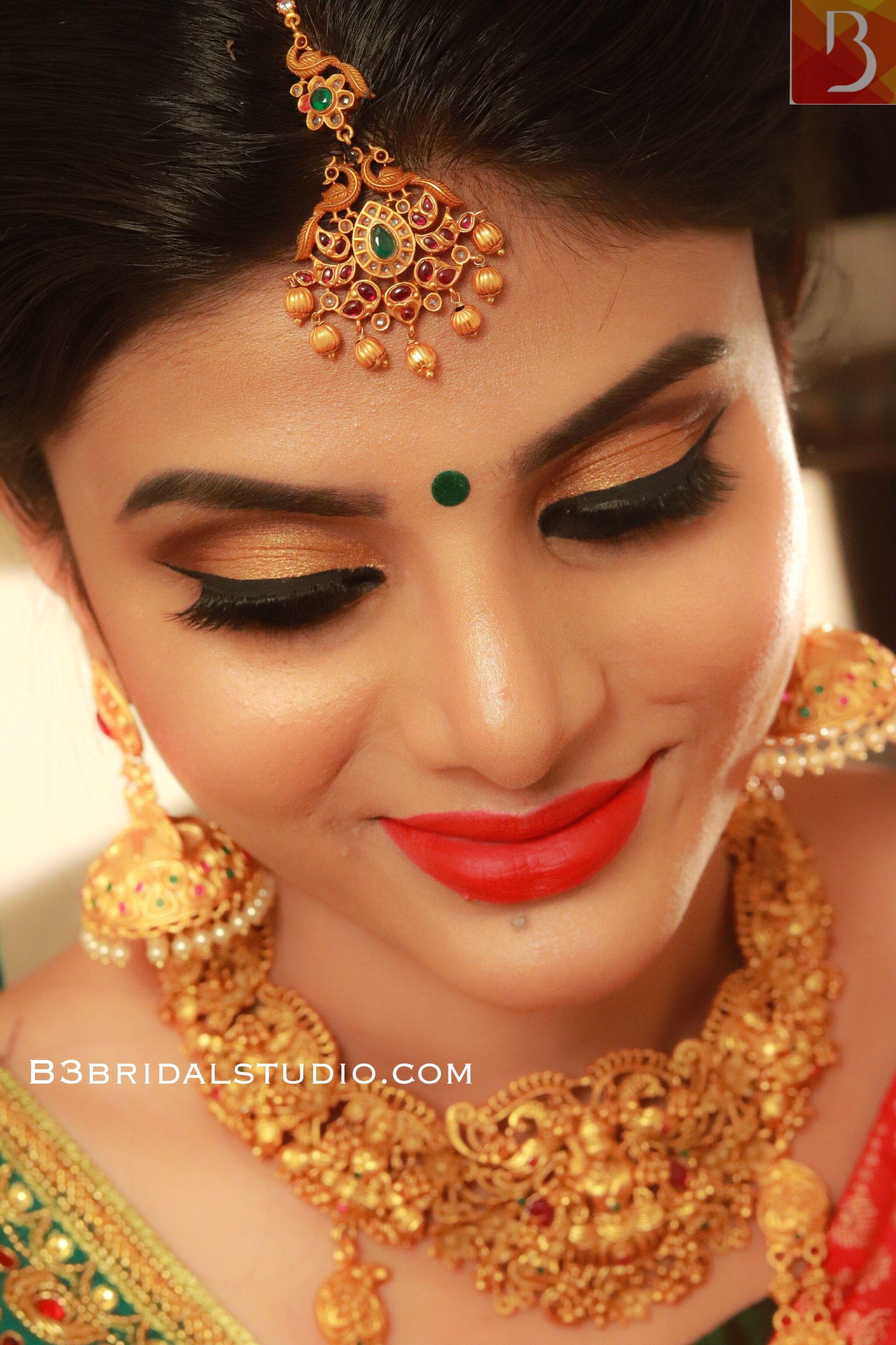 South Indian Bridal Makeup By Karthika B3bridalstudio Contact