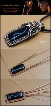 Photo of wire wrap, wire wrapped, wire jewelry, handmade, craft, wire work, handmade jewe…
