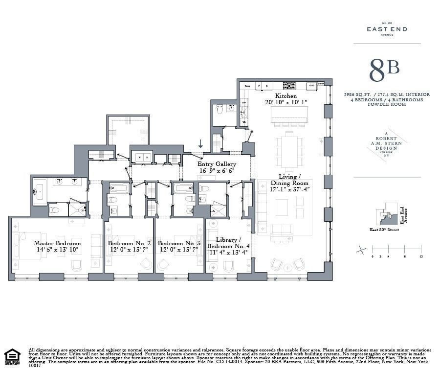 Robert A M Stern S New Upper East Side Condos Start At 4 5m Apartment Floor Plans House Layout Plans City Living Apartment